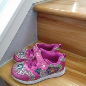 Disney frozen kids sneakers shoes size 11